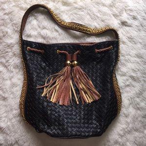 Melie Bianco Vegan Leather Bucket Bag